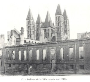 Tournai archives de la ville apres 1940