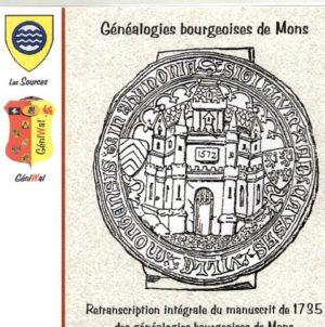 Généalogies bourgeoises de Mons (Belgique)